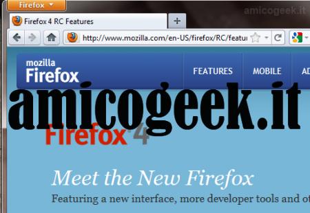 Scarica gratis Firefox 4 RC