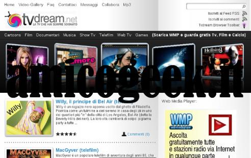 Guardare digitale terrestre RAI Mediaset online e la tv su Internet