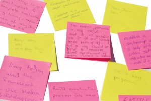 Visualizzare note e post-it sul desktop