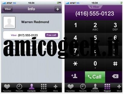 Viber: chiamate gratis su iPhone e Android