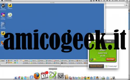 Controllare un pc remoto con CrossLoop