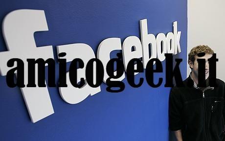 Cancellare l'account di Facebook