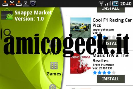 Snappzmarket, per installare applicazioni craccate su Android