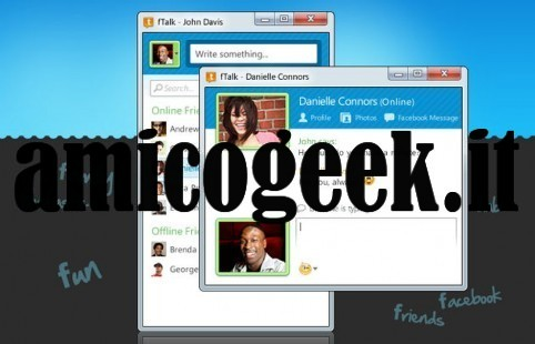 Programma per chattare su Facebook da Windows