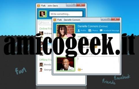 Programma per chattare su Facebook da Windows