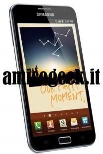 Samsung Galaxy Note: scheda tecnica e prezzo, recensione Amico Geek