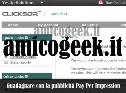 Affiliazioni PPI pay per impression in Italia: le migliori 2012