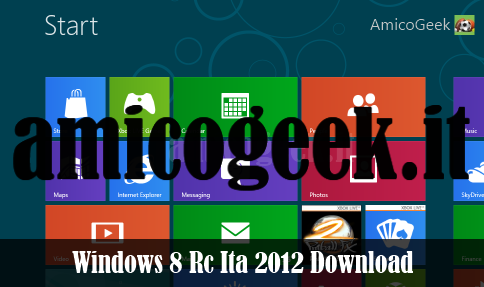 Download: Windows 8 Release Preview in italiano