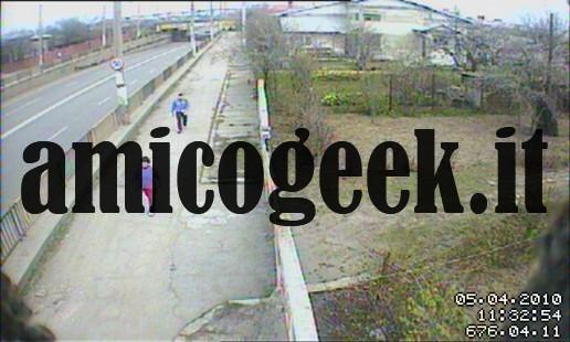 Webcam di videosorveglianza con pc e cellulare