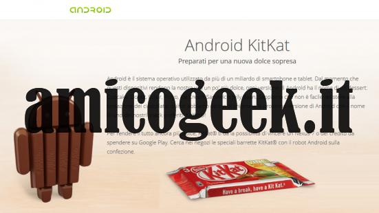 Android 4.4 kitkat: novità, screenshot e data di uscita