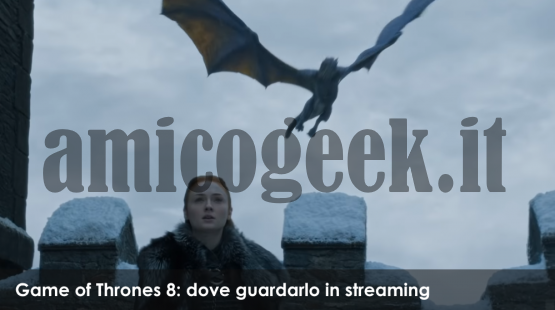 Game of Thrones 8 - Trailer sansa streaming ITA